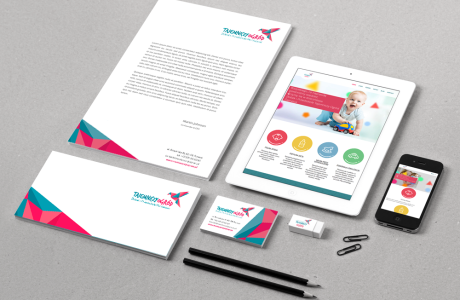 Identyfikacja wizualna firmy | Pracownia reklamy Logomotiv