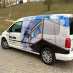 Oklejanie samochodów | Pracownia reklamy Logomotiv