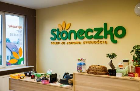 Całościowa identyfikacja sklepu Słoneczko | Logomotiv