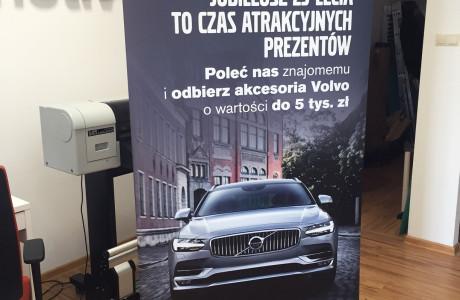 Baner roll-up Volvo | Pracownia reklamy Logomotiv